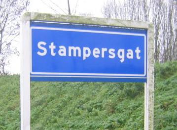 Hartstikke mooi synoniem voor een lekker kontje: Stampersgat